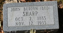 John Burton Bud Sharp