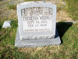 Theresia <i>Schurmann</i> Wernli