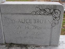 Mary Alice <i>Brown</i> Hagin