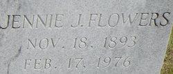 Jennie <i>Jones</i> Flowers