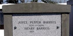 Joyce <i>Pepper</i> Barrios