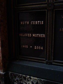 Ruth <i>Burge</i> Curtis