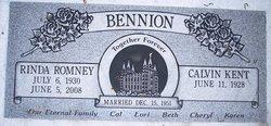 Rinda <i>Romney</i> Bennion