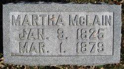 Martha M <i>Alexander</i> McLain