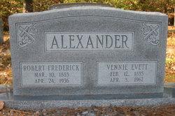 Vennie Lee <i>Evett</i> Alexander