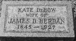 Catherine Kate <i>DeBow</i> Berdan