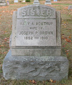 Mary Anstis <i>Northup</i> Brown