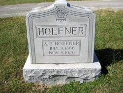 A. E. Hoefner