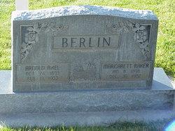 Margarett <i>Baker</i> Berlin