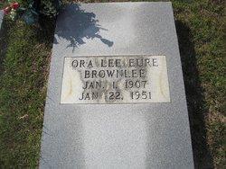 Ora Lee <i>Eure</i> Brownlee