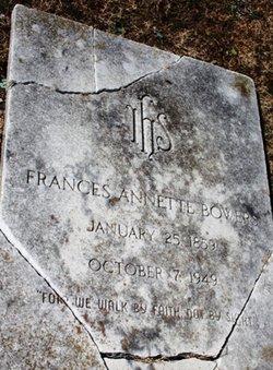 Frances Annette Bowers