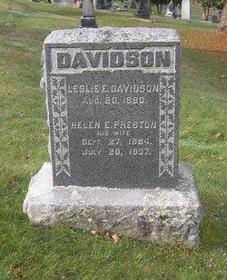 Helen E. <i>Preston</i> Davidson