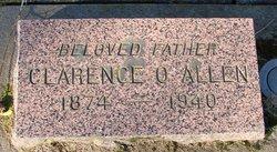 Clarence O Allen