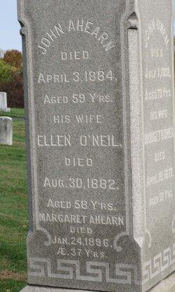 Ellen <i>O'Neil</i> Ahearn