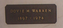 Dovie Myrtle <i>Moody</i> Warren