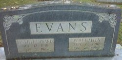 Alice Veola <i>Allen</i> Evans