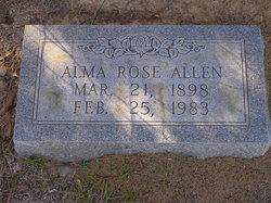 Alma Rose Allen