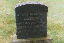 Ottine <i>(Edwardsen) Beckvold</i> Anderson
