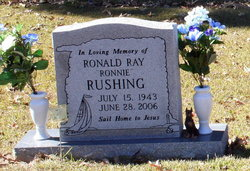 Ronald Ray Ronnie Rushing