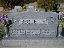 Helen E <i>Toenjes</i> Bequette