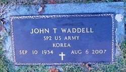 John T Waddell