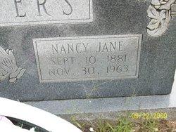 Nancy Jane <i>Rumley</i> Beavers