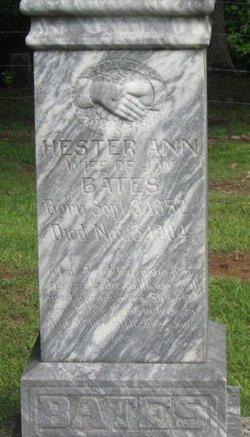 Hester Ann Bates