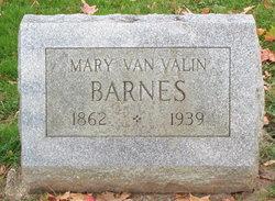 Mary Ellen <i>Van Valin</i> Barnes