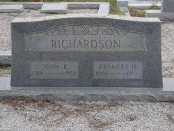 Frances H Richardson