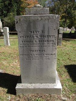 Mary E <i>Goodrich</i> Wolcott