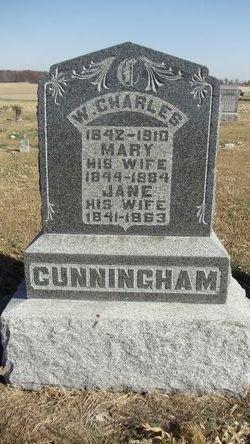 Jane <i>Myers</i> Cunningham