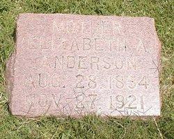 Elizabeth A. <i>Haney</i> Anderson