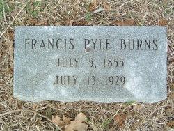 Francis <i>Pyle</i> Burns