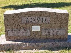 Winnie Pearl <i>Corder</i> Boyd