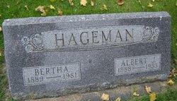 Bertha Babe <i>Hansel</i> Hageman