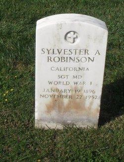Sylvester A Robinson