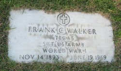 Sgt Franklin Columbus Walker