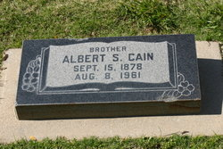 Albert Sidney Cain