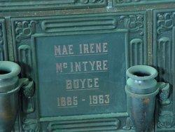 Mae Irene <i>McIntyre</i> Boyce