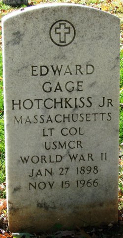 Edward Gage Hotchkiss, Jr.