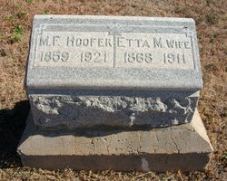 Etta Mabel <i>Smith</i> Hoofer