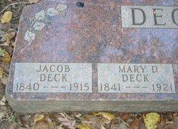 Mary D. <i>Daslin</i> Deck