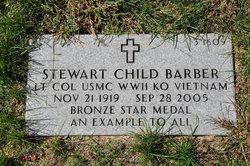 LTC Stewart Child Barber