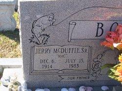 Jerry McDuffie Mac Bolen, Sr