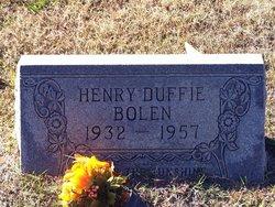 Henry Duffie Bolen