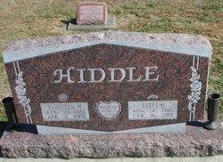 Katheryn M <i>Eveland</i> Hiddle