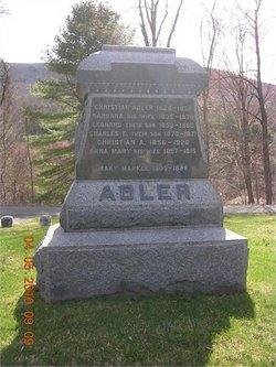 Anna Mary <i>Schatz</i> Adler