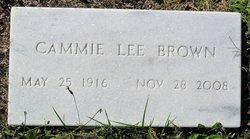 Cammie Lee <i>Garrett</i> Brown