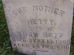 Hetty <i>Catherman</i> Getz