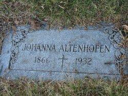 Johanna <i>Horn</i> Altenhofen